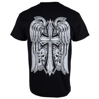 tricou stil metal bărbați Doga - Black -, Doga