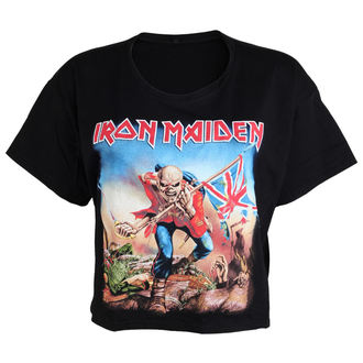 tricou stil metal femei Iron Maiden - Trooper - ROCK OFF, ROCK OFF, Iron Maiden