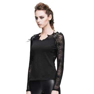 tricou stil gotic și punk femei - Gothic Dusk - DEVIL FASHION, DEVIL FASHION
