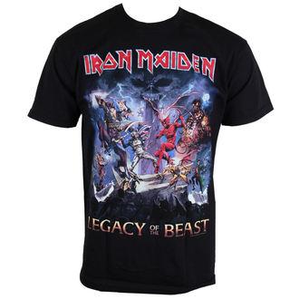 tricou stil metal bărbați Iron Maiden - Legacy Of The Beast - ROCK OFF, ROCK OFF, Iron Maiden