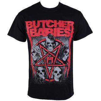 tricou stil metal bărbați Butcher Babies - STAR SKULL - RAZAMATAZ, RAZAMATAZ, Butcher Babies