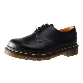 pantofi Dr. Martens - 3 ocheți - Negru neted, Dr. Martens