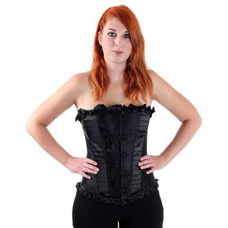 corset doamnelor VOODOO VIXEN - Negru, JAWBREAKER
