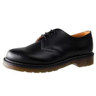 pantofi Dr. Martens - 3 ocheți - PW Negru neted, Dr. Martens