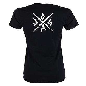 tricou stil metal femei Doga - Black -, Doga
