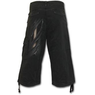 pantaloni scurți bărbați SPIRALĂ - Bone Rips - Negru, SPIRAL