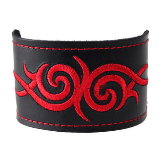 brăţară Tribal - Red, BLACK & METAL