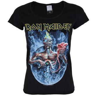 tricou stil metal femei Iron Maiden - CIRCLE - AMPLIFIED, AMPLIFIED, Iron Maiden