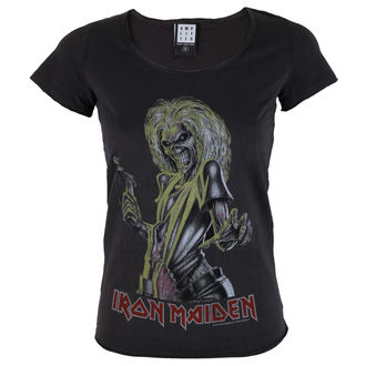 tricou stil metal femei Iron Maiden - KILLER - AMPLIFIED, AMPLIFIED, Iron Maiden