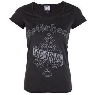tricou stil metal femei Motörhead - Ace Of - AMPLIFIED, AMPLIFIED, Motörhead