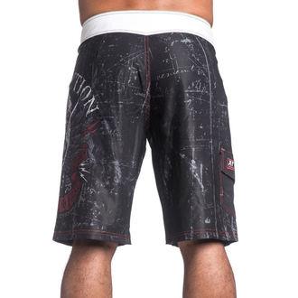 costume de baie bărbați (pantaloni scurti) mâhnire - Wild Wing - BK - 101BS130