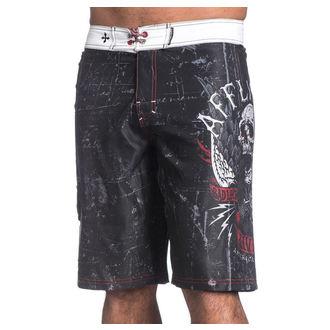 costume de baie bărbați (pantaloni scurti) mâhnire - Wild Wing - BK, AFFLICTION