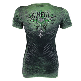 tricou hardcore femei - Sinful Undying - AFFLICTION, AFFLICTION