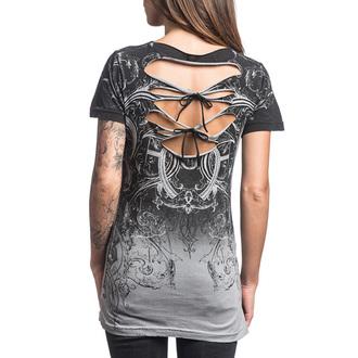 tricou hardcore femei - Sinful Vaudeville - AFFLICTION, AFFLICTION