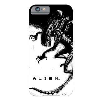 celulă telefon acoperi Străin - iPhone 6 - Xenomorph Negru & alb Comic, Alien - Vetřelec