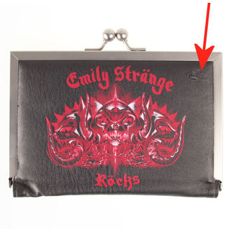 Portofel EMILY THE STRANGE - Emily (E4081502) Kitty Head - DAMAGED, EMILY THE STRANGE