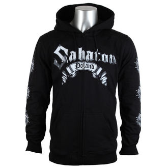 hanorac cu glugă bărbați Sabaton - Poland - CARTON, CARTON, Sabaton