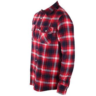 cămaşă bărbați INDEPENDENT - Faction Red Check, INDEPENDENT
