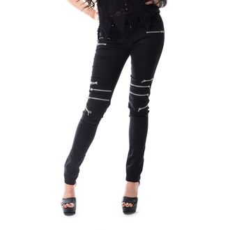 Pantaloni femei VIXXSIN - REMISSION - BLACK, VIXXSIN