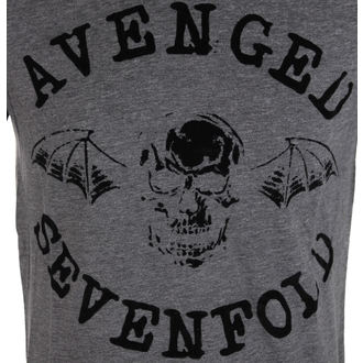 tricou stil metal bărbați Avenged Sevenfold - Classic Deathbat Acid Wash - ROCK OFF, ROCK OFF, Avenged Sevenfold