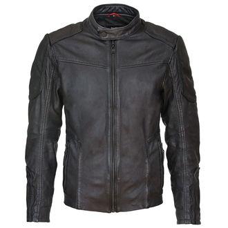 Jachetă bărbați Suicide Squad Leather Jacket Deadshot Black - MRT-SQ-16-MSJ-02-BLK