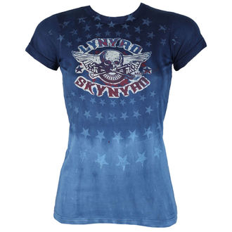 tricou stil metal femei Lynyrd Skynyrd - Skynyrd Stars Tie-Dye Juniors - LIQUID BLUE, LIQUID BLUE, Lynyrd Skynyrd