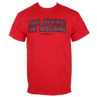 tricou stil metal bărbați Rage against the machine - Smashed Red -, Rage against the machine