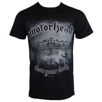 tricou stil metal bărbați Motörhead - Clean Your Clock B&W - ROCK OFF, ROCK OFF, Motörhead