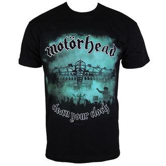 tricou stil metal bărbați Motörhead - Clean your Clock Green - ROCK OFF, ROCK OFF, Motörhead