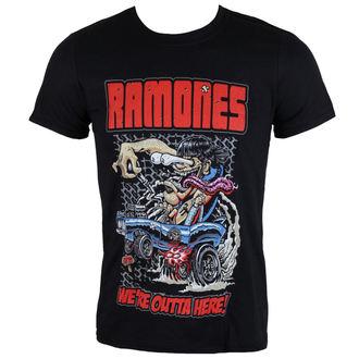 tricou stil metal bărbați Ramones - Outta Here - ROCK OFF, ROCK OFF, Ramones