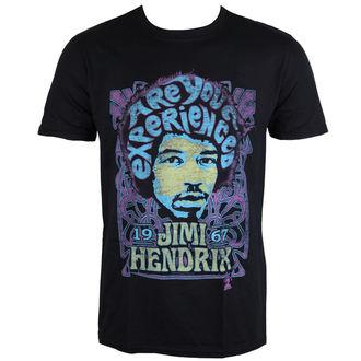 tricou stil metal bărbați Jimi Hendrix - Experienced - ROCK OFF, ROCK OFF, Jimi Hendrix