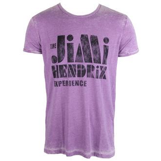 tricou stil metal bărbați Jimi Hendrix - Stencil Logo Vintage - ROCK OFF, ROCK OFF, Jimi Hendrix