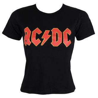 tricou stil metal femei AC-DC - Classic Logo - ROCK OFF, ROCK OFF, AC-DC