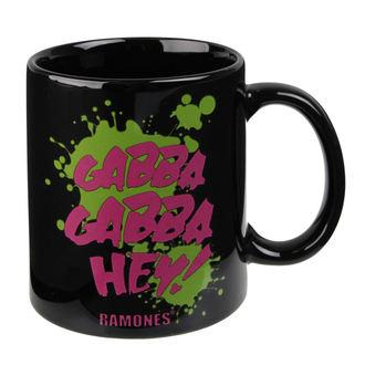 Cană Ramones - Gabba Gabba Hey - ROCK OFF, ROCK OFF, Ramones