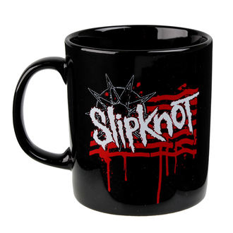 Cană Slipknot - Dripping Flag And Logo - ROCK OFF, ROCK OFF, Slipknot