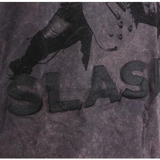 tricou stil metal bărbați Guns N' Roses - Snowblind Acid Wash Puff Print - ROCK OFF, ROCK OFF, Guns N' Roses