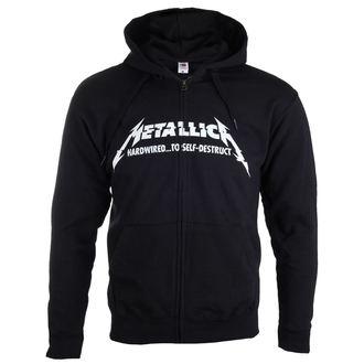 hanorac cu glugă bărbați Metallica - Hardwired Album Cover -, Metallica