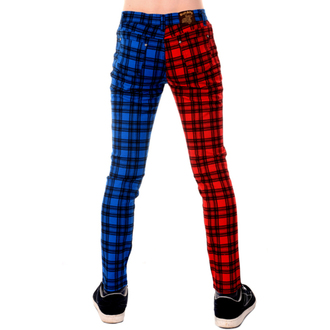 Pantaloni bărbați 3RDAND56th - TARTAN SPLIT LEG, 3RDAND56th