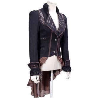 Sacou (jachetă) femei PUNK RAVE - UMBRA - BROWN, PUNK RAVE