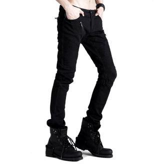 Pantaloni bărbați PUNK RAVE - Black Engine, PUNK RAVE