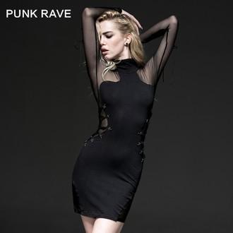 Rochie femei PUNK RAVE - Fatal Kiss, PUNK RAVE