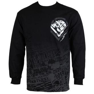 tricou de stradă bărbați - Electric - METAL MULISHA - FA6519005.01_BLK