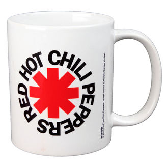 Ceașcă RED HOT CHILI PEPPERS - LOGO - BIOWORLD, BIOWORLD, Red Hot Chili Peppers