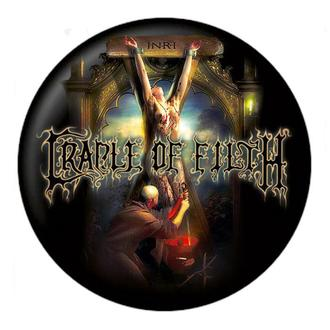 Insignă Cradle of Filth - Hexen - NUCLEAR BLAST, NUCLEAR BLAST, Cradle of Filth
