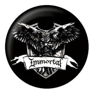 Insignă Immortal - Crest - NUCLEAR BLAST, NUCLEAR BLAST, Immortal