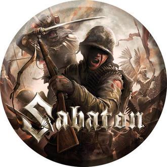 Insignă Sabaton - The last stand - NUCLEAR BLAST, NUCLEAR BLAST, Sabaton