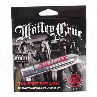 Vibrator Motley Crue - Too Fast For Love 10 - Payer HEAD, PLASTIC HEAD, Mötley Crüe