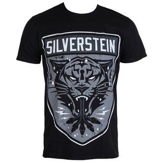 tricou stil metal bărbați Silverstein - Tiger - PLASTIC HEAD, PLASTIC HEAD, Silverstein