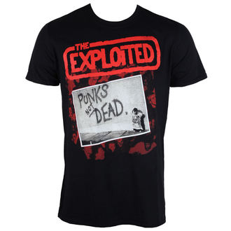tricou stil metal bărbați Exploited - The Punks Not Dead - PLASTIC HEAD, PLASTIC HEAD, Exploited