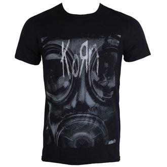 tricou stil metal bărbați Korn - Gas Mask - PLASTIC HEAD, PLASTIC HEAD, Korn